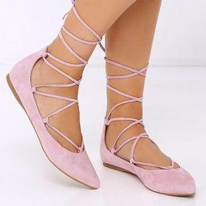 Steve Madden Eleanorr Ballet Flat in Pink